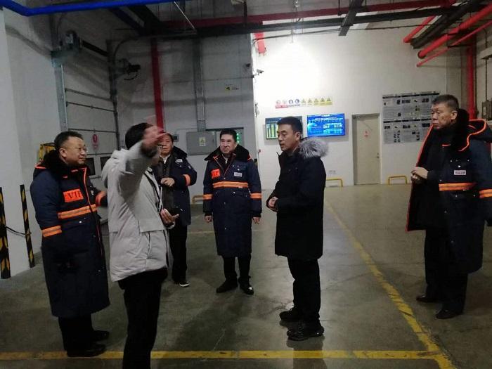 于喜东总经理率队物产集团主要领导 赴万纬...